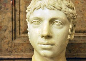 A contemporary depiction of Elegabalus. Kind of weird to see a Roman Emperor look younger than you, right?