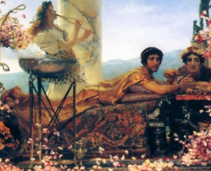 Another image of Elagabalus - but this one from 1888. Spot the Orientalism in 3..2.1..